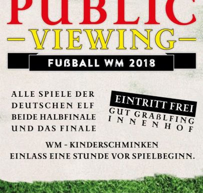 Olchinger Plublic Viewing im Gut Graßlfing