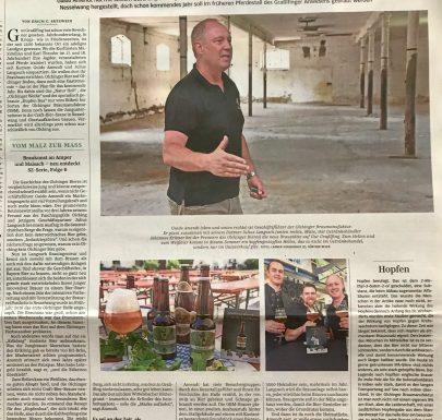 Sueddeutsche Zeitung ueber die Olchinger Braumanufaktur